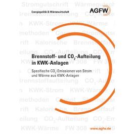 Brennstoff- und CO2-Aufteilung in KWK-Anlagen - Spezifische CO2-Emissionen von Strom und Wärme aus KWK-Anlagen
