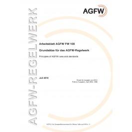 FW 100 - Grundsätze für das AGFW-Regelwerk (Printversion)