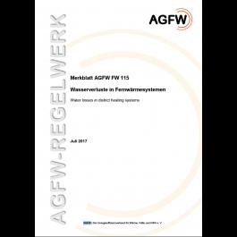 FW 115 - Wasserverluste in Fernwärmesystemen
