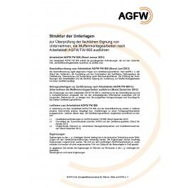 FW 605 - Muffenmontage an Kunststoffmantelrohren (KMR) und flexiblen Rohrsystemen; Anforderungen an Unternehmen die Muffenmontagearbeiten ausführen