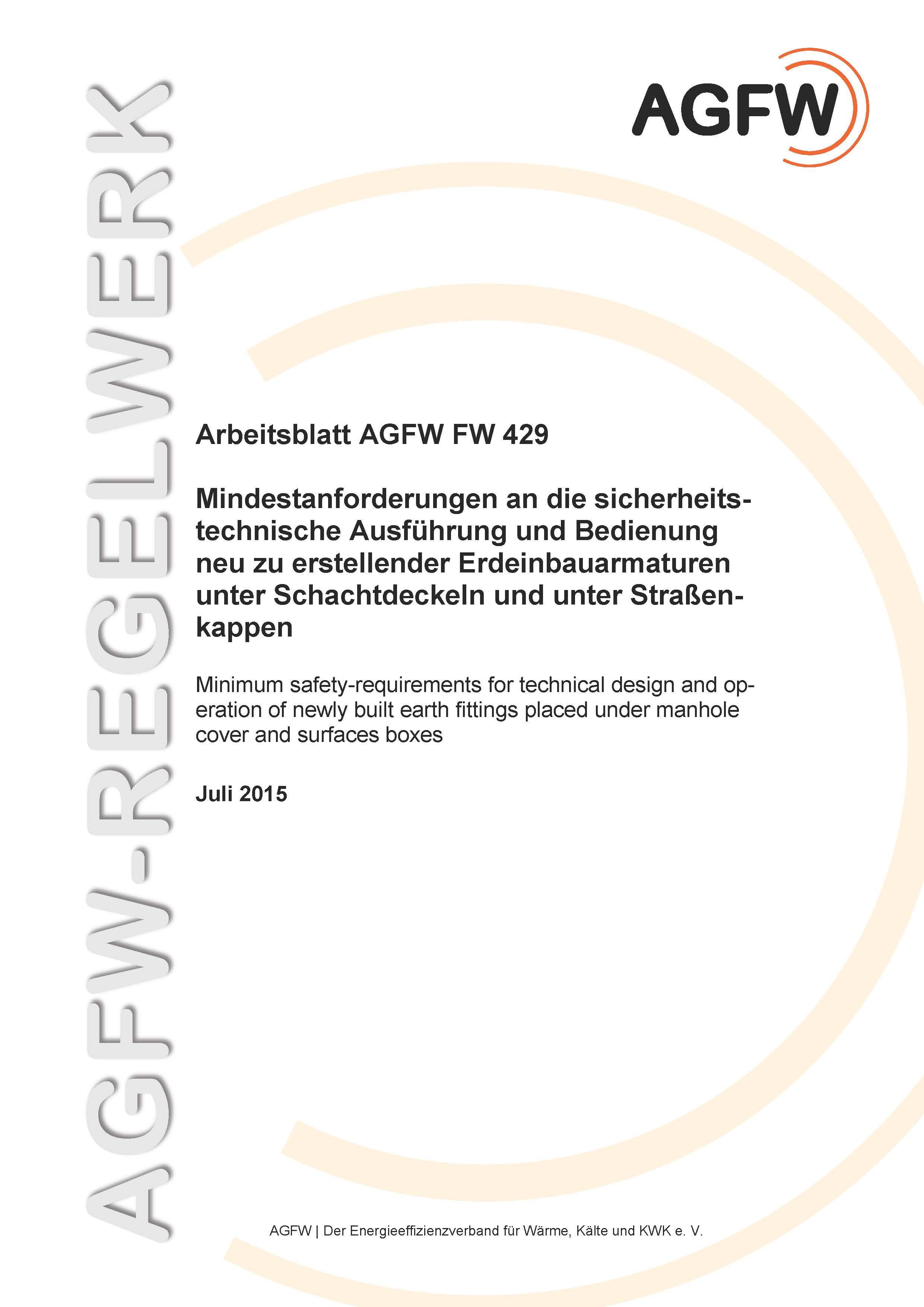 FW 429 - Mindestanforderungen an die sicherheitstechnische ...