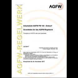 FW 100 Entwurf - Grundsätze für das AGFW-Regelwerk (Printversion)