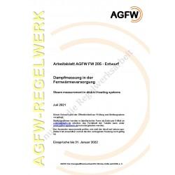 FW 205 Entwurf - Dampfmessung in der Fernwärmeversorgung