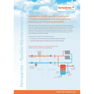 Fernwärme - flexible Wärmeversorgung