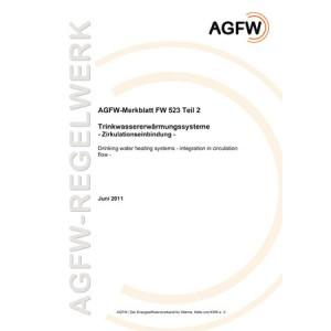 FW 523 Teil 2 - Trinkwassererwärmungssysteme - Zirkulationseinbindung
