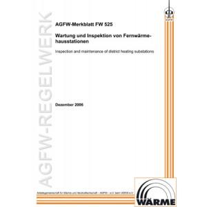 FW 525 - Wartung und Inspektion von Fernwärmehausstationen
