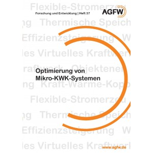 Optimierung von Mikro-KWK-Systemen (Heft 37)