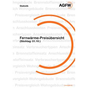 Fernwärme-Preisübersicht (Stichtag: 01.10.2017)