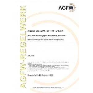 FW 1100 Entwurf - Betriebsführungsprozesse Wärme/Kälte