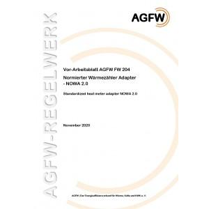 FW 204 - Normierter Wärmezähler Adapter - NOWA 2.0