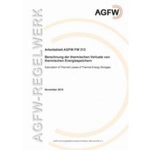 FW 313 - Berechnung der thermischen Verluste von thermischen Energiespeichern