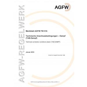 FW 516 - Technische Anschlussbedingungen Dampf (TAB-Dampf)
