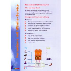 "Kurzbroschüre ""Fernwärme mit Wärme-Service"""