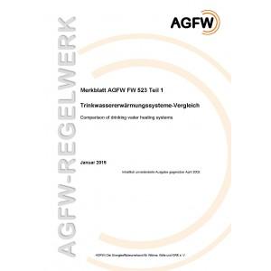 FW 523 Teil 1 - Trinkwassererwärmungssysteme - Vergleich