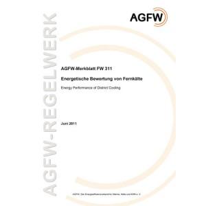 FW 311 - Energetische Bewertung von Fernkältenetzen