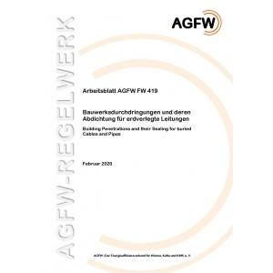 FW 419 - Bauwerksdurchdringungen und deren Abdichtung für erdverlegte Leitungen
