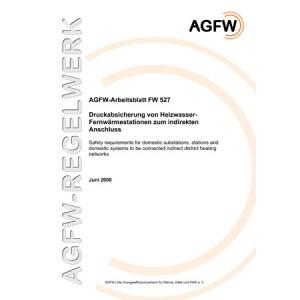 FW 527 - Druckabsicherung von Heizwasser-Fernwärmestationen zum indirekten Anschluss