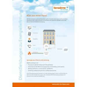 """Kurzbroschüre """"Dienstleistungen zu Energielieferung"""""""