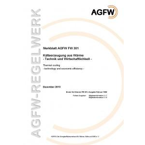 FW 301 - Kälteerzeugung aus Wärme - Technik und Wirtschaftlichkeit