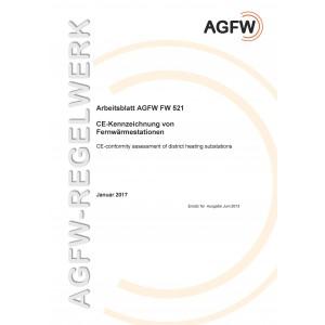 FW 521 - CE-Kennzeichnung von Fernwärmestationen